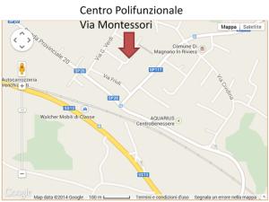 mappa magnano